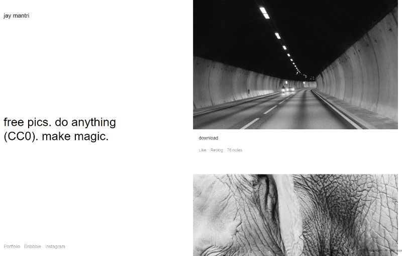 Jay Mantri Website Screenshot