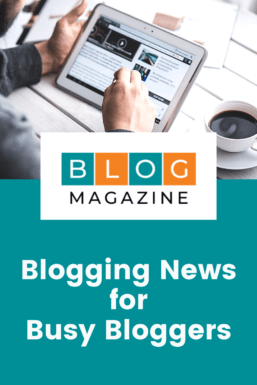 Blogging News For Busy Bloggers Pin 1