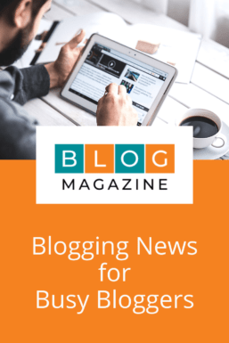 Blogging News For Busy Bloggers Pin 2