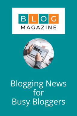 Blogging News For Busy Bloggers Pin 3