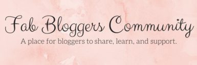 Fab Bloggers Community Twitter