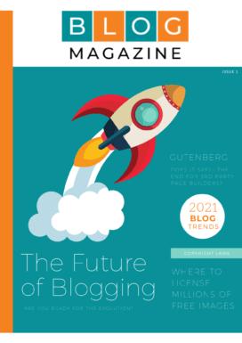Blog Magazine Cover