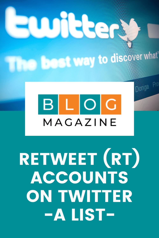 Twitter Retweet Accounts Pin 1