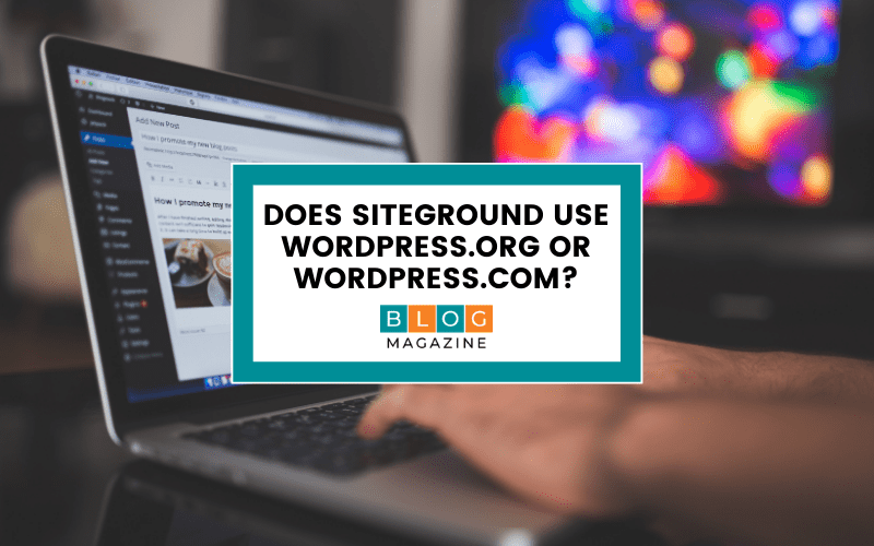 SiteGround WordPress version