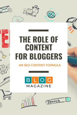The Role of Content Course for Bloggers