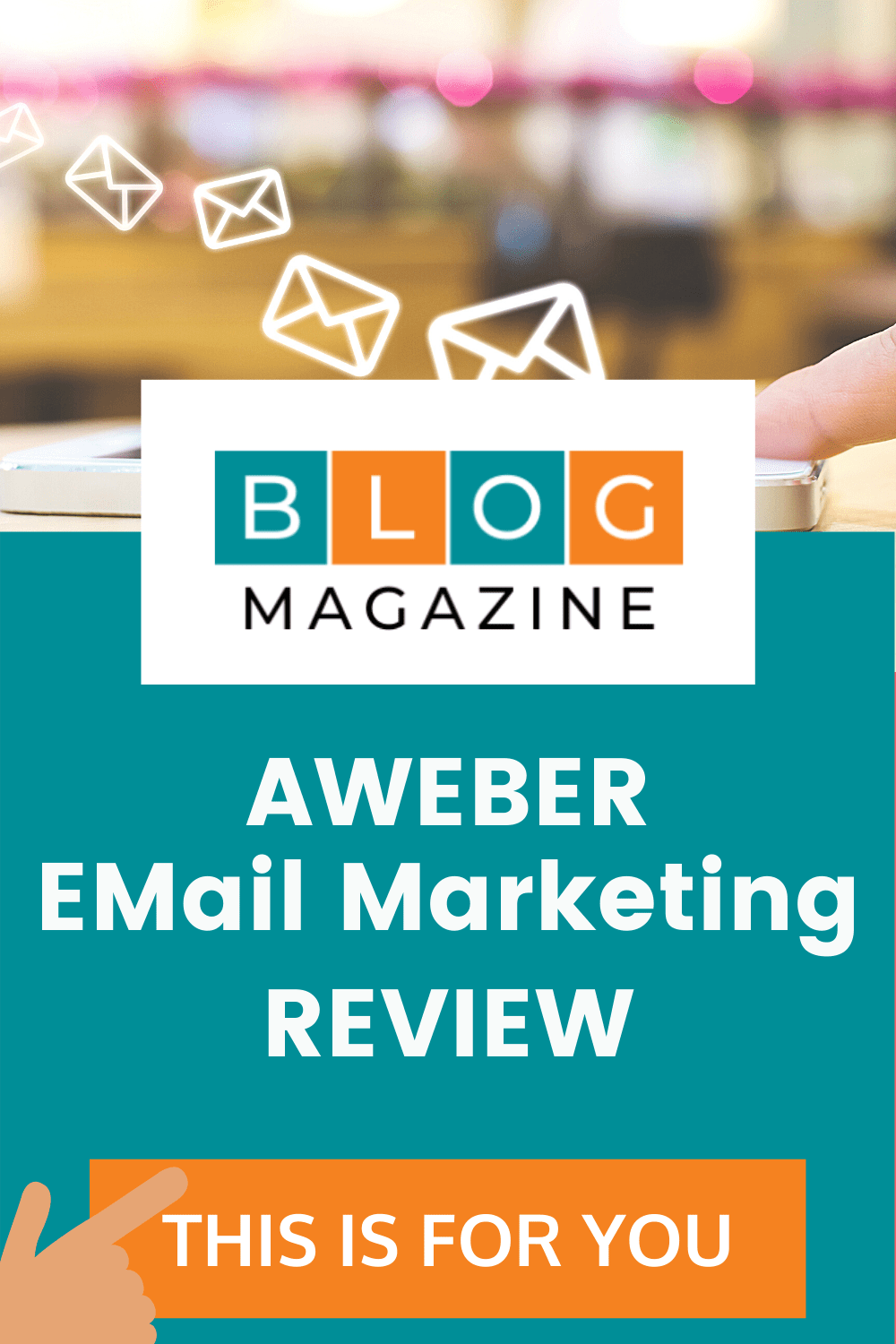 Aweber Email Marketing Review Pin