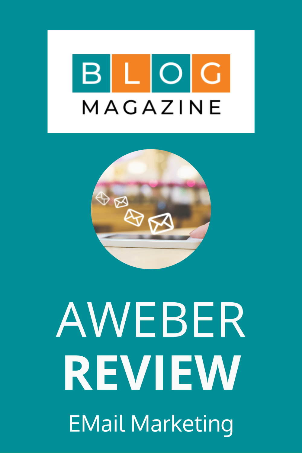 Aweber Email Marketing Review Pin 2