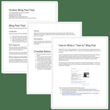 Hubspot Blog Templates