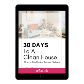 30 Days To A Clean House