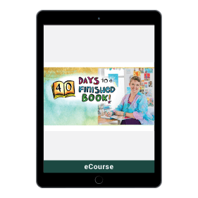 40 Days To A Finished Book