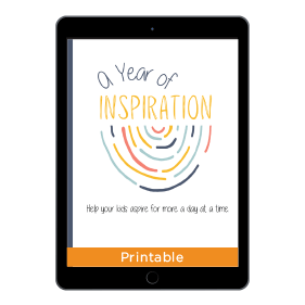 A Year Of Inspiration Binder