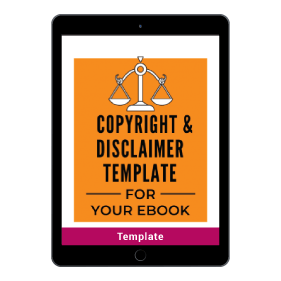 Copyright and Disclaimer Template