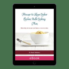 Freezer To Slow Cooker Chicken Bulk Cooking Plan