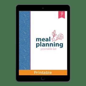 Meal Planning Printable Kit