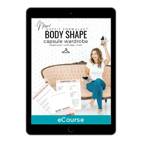 Outfit Formulas Body Shape Capsule Wardrobe