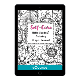 Self-Care Bible Study + Coloring Prayer Journal