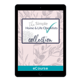 Simple Home + Life Checklists Collection