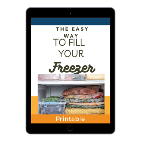 The Easy Way to Fill Your Freezer and Keep You Out of the Drive-thru