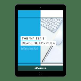 The Writer's Deadline Formula