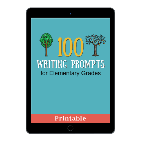100 Writing Prompts or Elementary Grades