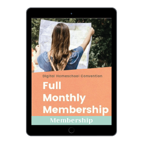 1 Year of Digital Homeschool Convention Membership