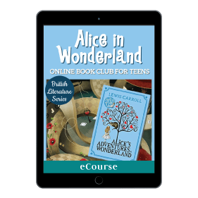 Alice in Wonderland Online Book Club Book