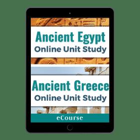 Ancient Greece & Egypt Online Unit Study Bundle