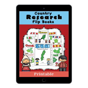 Country Research FlipBooks