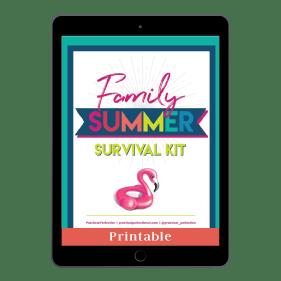 Family Summer Survival Kit