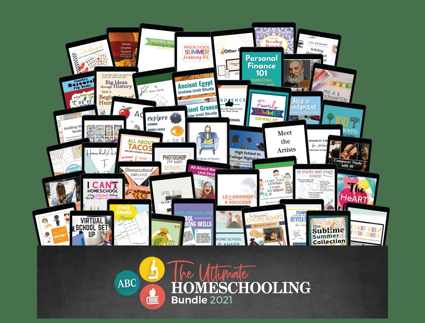 The Ultimate Homeschooling Bundle
