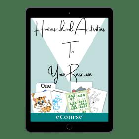 Homeschool Activities To Your Rescue