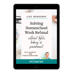 Solving Homeschool Work Refusal