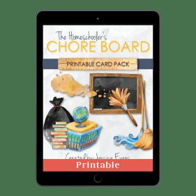 The Homeschoolers Chore Board